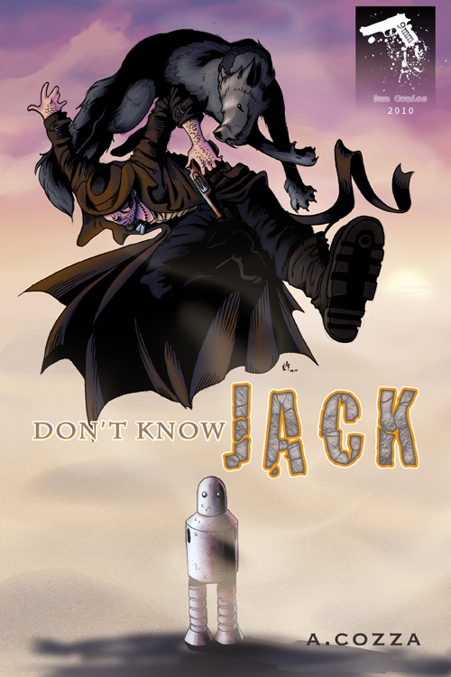 Don't Know Jack Issue 1 Cover, 2010