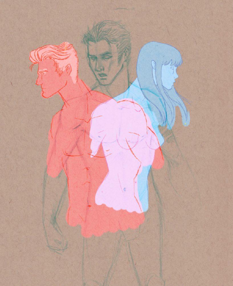 Filled in Sketch
