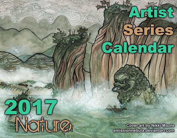 Artist Series Calendar 2017: Nature
