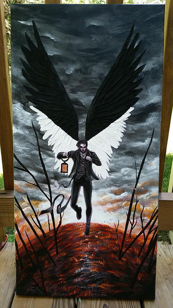 Azra Painting Black 2.0