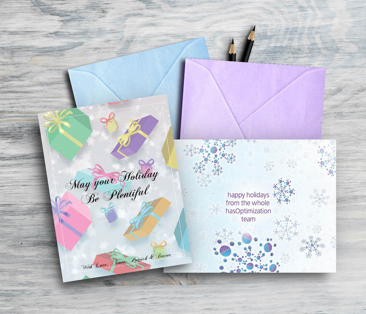 Commercial & Personal Holiday Greeting Cards, 2018