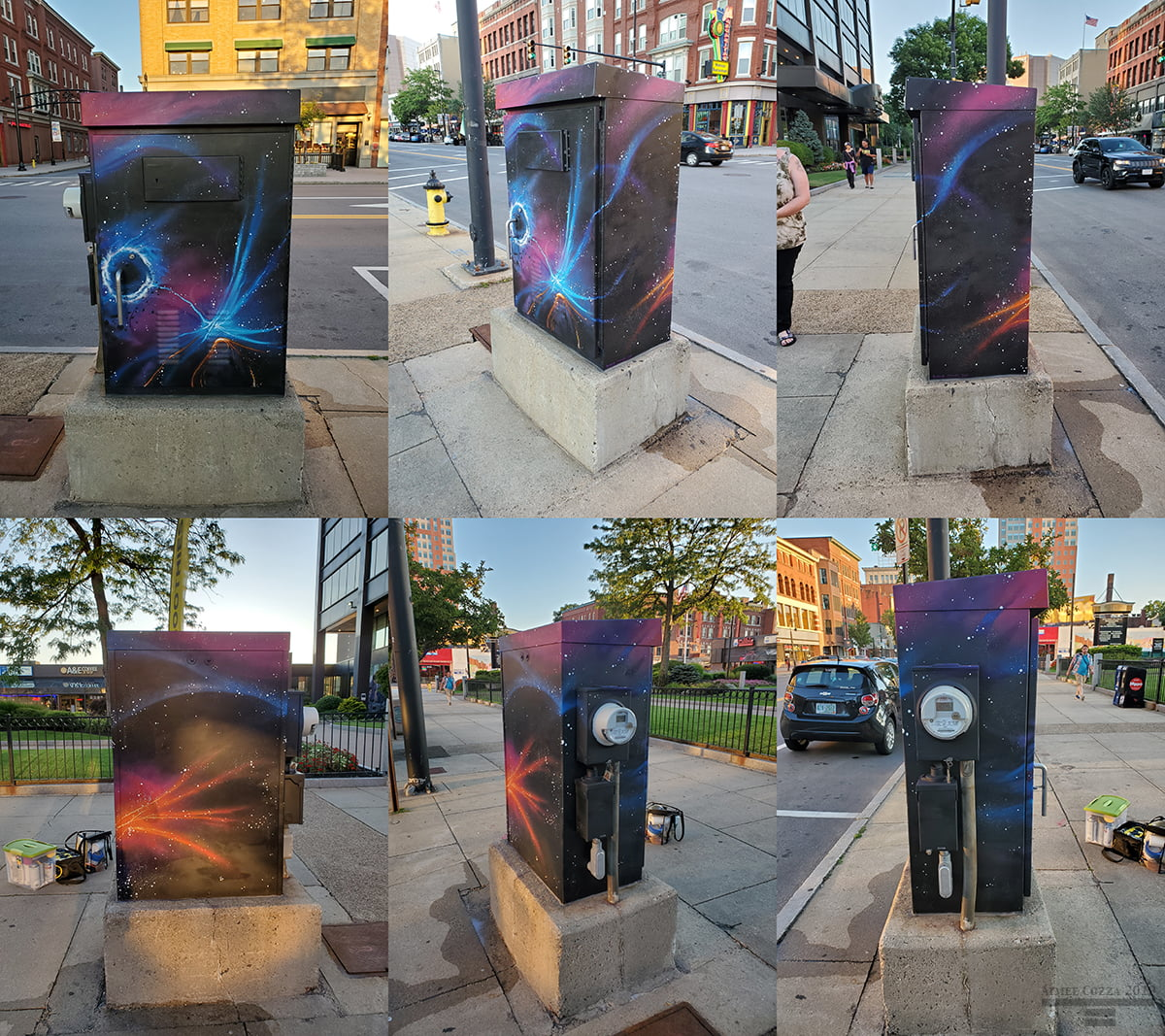 1000 Elm St Utility Box, Manchester, NH, 2019
