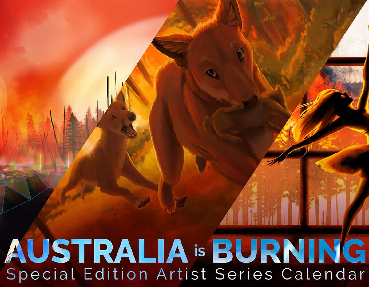Australia is Burning Calendar Cover