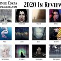 Monthly illustrations created in the year 2020
