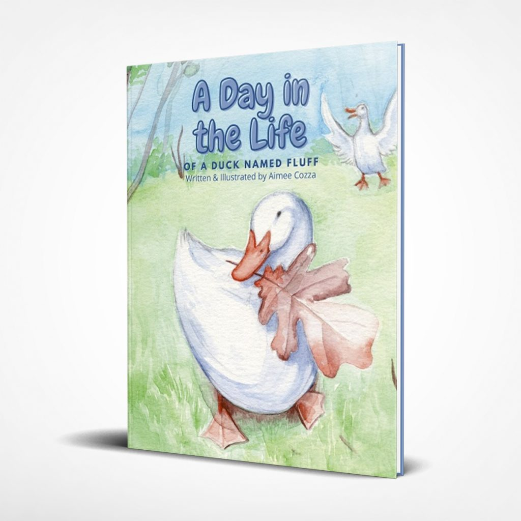 A Day in the Life of a Duck Named Fluff Book Cover
